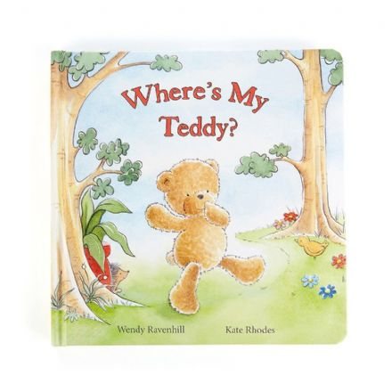 Jellycat Where's my Teddy? Book